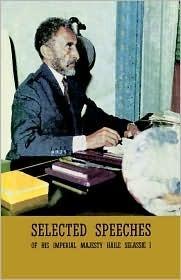 Selected Speeches Haile Selassie I