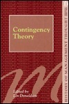 Contingency Theory  by  Lex Donaldson