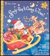 Sandy Paws is Coming to Town (Golden Deluxe Flaptime Book)  by  Alan Benjamin