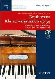 Beethovens Variations for Piano Op. 34  by  Mark Lindley