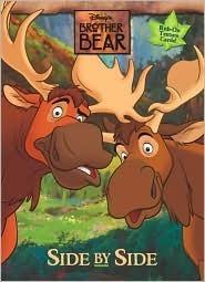 Side Side (Brother Bear Rub On Pattern Book) by Walt Disney Company