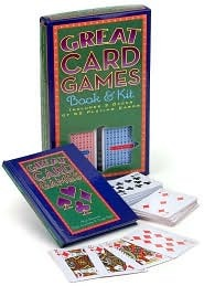 Great Card Games Book & Kit Alfred Sheinwold