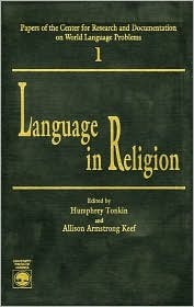 Language in Religion  by  Humphrey Tonkin