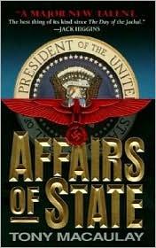 Affairs of State Tony MacAulay
