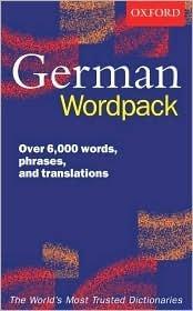 Oxford German Wordpack  by  Valerie Grundy