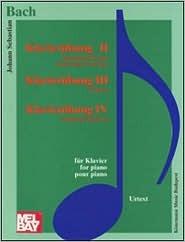 Piano Exercises II-IV Johann Sebastian Bach