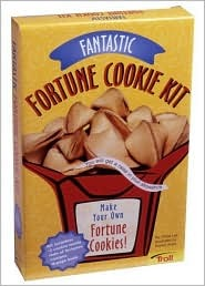 Fantastic Fortune Cookie Kit [With Fortune Cookie Molds & 64 Fortunes]  by  Gloria Lee