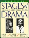 Stages Of Drama: Classical To Contemporary Theater Carl H. Klaus