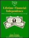Starting to Plan for Lifetime Financial Independence Elmo A. Petterle