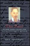 Dear Friend: Rainer Maria Rilke and Paula Modersohn-Becker Eric Torgersen