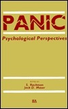 Panic: Psychological Perspectives  by  Rachman