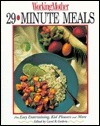 29 Minute Meals  by  Working Mother