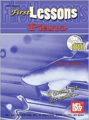Mel Bays First Lessons Piano Book/CD Set  by  Per Danielsson
