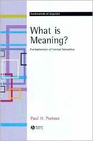 Modality. Oxford Surveys in Semantics and Pragmatics Paul Portner