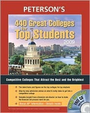 440 Great Colleges for Top Students 2009  by  Petersons