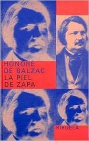 La Piel de Zapa Honoré de Balzac
