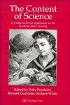The Content Of Science: A Constructive Approach To Its Teaching And Learning: A Constructive Approach to Its Teaching & Learning Peter J. Fensha