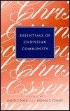 Essentials of Christian Community David F. Ford