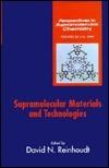 Supramolecular Materials And Technologies David N. Reinhoudt