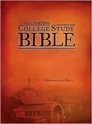 Saint Marys Press College Study Bible-Nab St Marys Press