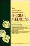 The Information Sourcebook Of Herbal Medicine David Hoffmann