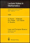 Logic and Computer Science: Lectures Given at the 1st Session of the Centro Internazionale Matematico Estivo (C.I.M.E.) Held at Montecatini Terme, Italy, June 20-28, 1988 Steven Homer