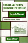 Chemical and Isotopic Groundwater Hydrology, Second Edition Imanuel Mazor