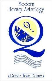 Modern Horary Astrology Doris Chase Doane