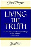 Living the Truth Josef Pieper