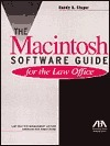 The Macintosh Software Guide for the Law Office  by  Randy B. Singer