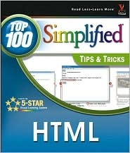 HTML: Top 100 Simplified Tips & Tricks  by  Paul Whitehead