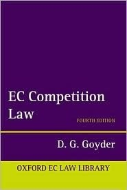EC Competition Law D.G. Goyder