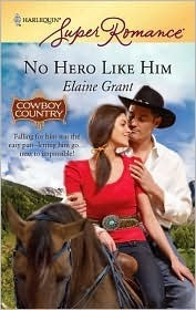 No Hero Like Him  by  Elaine Grant