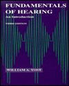 Fundamentals Of Hearing: An Introduction  by  William A. Yost