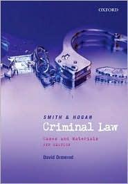 Criminal Law J.C.  Smith