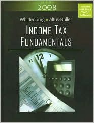 Income Tax Fundamentals (with TaxCut Tax Prep Software)  by  Gerald E. Whittenburg