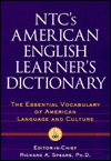 NTCs American English Learners Dictionary  by  Richard A. Spears