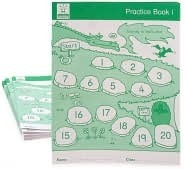 Practice Book 1 (First Skills in Numeracy 2) [Pack of 10]  by  Sue Atkinson