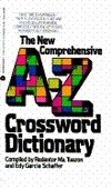 The New Comprehensive A Z Crossword Dictionary Redentor M. Tuazon