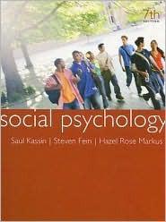 Revealing Psychology DVD for Kassin/Fein/Markus Social Psychology  by  Saul Kassin