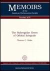 The Subregular Germ of Orbital Integrals  by  Thomas C. Hales