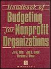 Handbook of Budgeting for Nonprofit Organizations Jae K. Shim