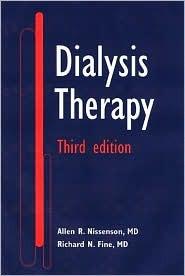 Dialysis Therapy (Books) Allen R. Nissenson
