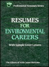 Resumes for Environmental Careers  by  Passport Books