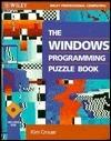 The Windows Programming Puzzle Book Kim Crouse
