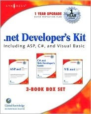 Net Developers Kit Including ASP, C#, and Visual [With CDROM]  by  Wei Meng Lee