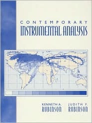Contemporary Instrumental Analysis  by  Kenneth A. Rubinson