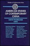 American Studies Of Contemporary China  by  David Shambaugh