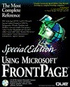 Using Microsoft FrontPage  by  Neil Randall