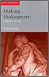 Rehearsal from Shakespeare to Sheridan Tiffany Stern
